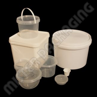 Plastic Tubs, Buckets and Lids